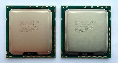 Matched Pair Intel Xeon X5690 3.46GHz 6.4GT/s 12MB 6 Core 1333GHz SLBVX CPU
