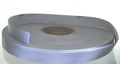 3m 8910 Reflective Material Fabric Trim Tape Sew-on 1 Wide - 1 Yard Length