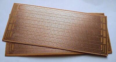 2pcs Diy Perf Board Prototype Pcb Universal Matrix Circuit Breadboard 8.5x20cm