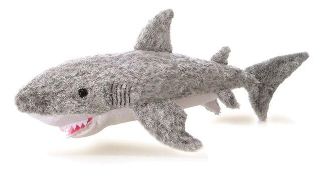 NEW AURORA 26cm FLOPSIES PLUSH SAMUEL SHARK CUDDLY SOFT TOY TEDDY - 13275