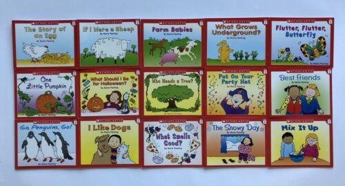 Kindergarten Childrens Books Leveled Readers Lot 60