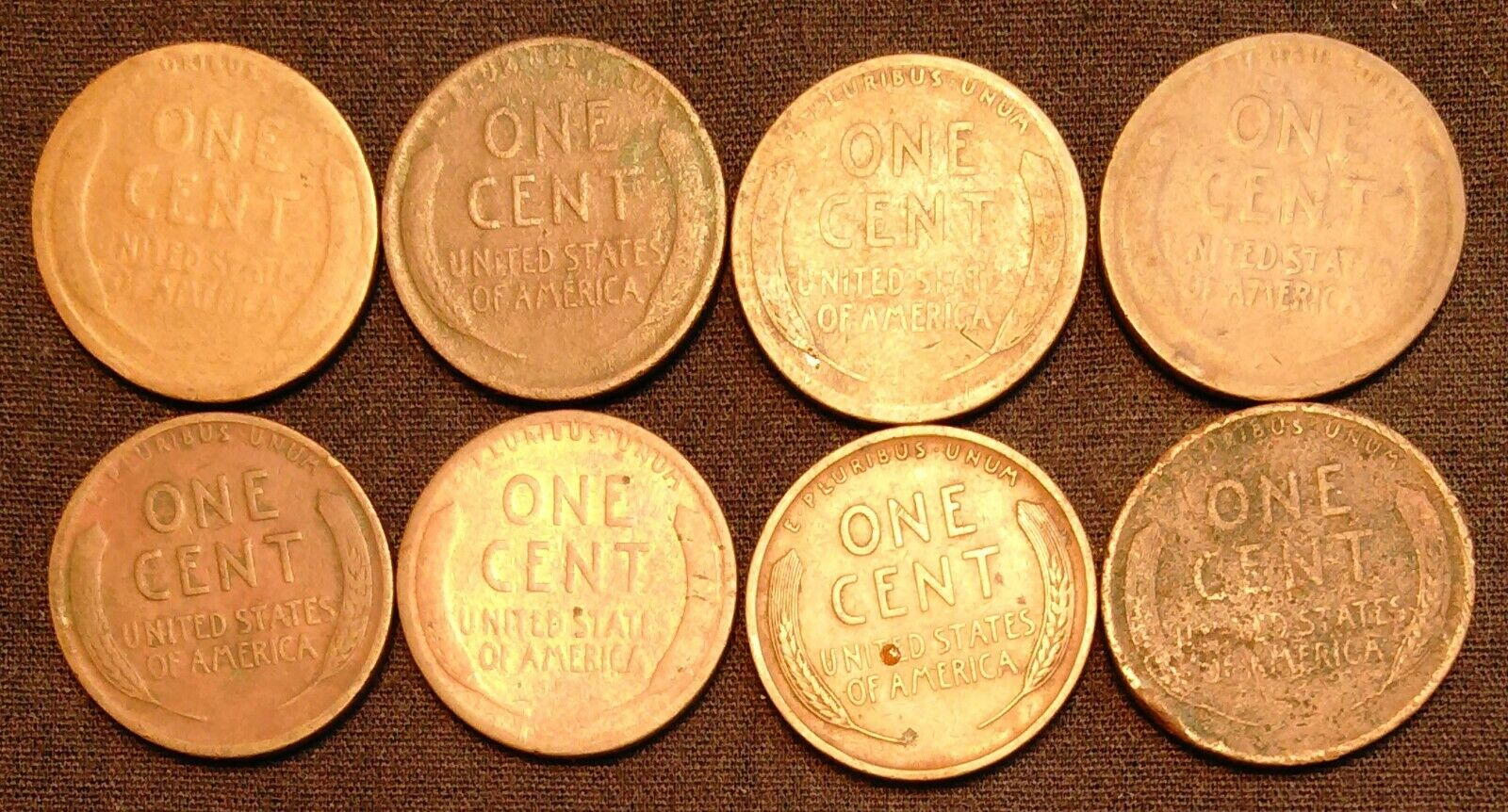 45 US Pennies 1899 To 1919 - Indian Head Penny Lincoln Wheat Penny - $35.00