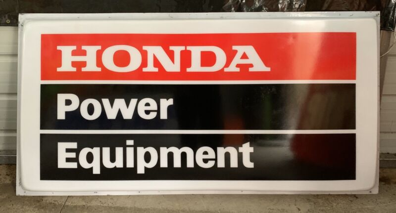 AWESOME ORIGINAL HONDA DEALER SIGN!