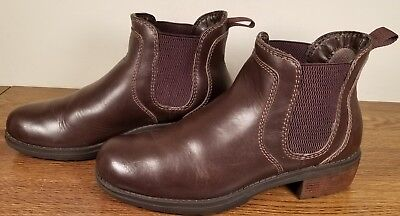 Eastland Brown Leather (Eastland Double Up Brown Leather Chelsea Ankle Boots 3523-02 Women's Size 9M  )