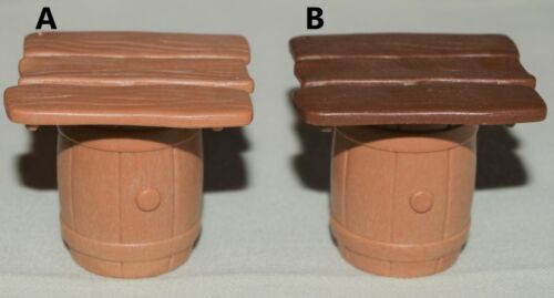 Playmobil CHOOSE Wood Barrel w/Table Top Board, Western Pirate Castle Barbarian