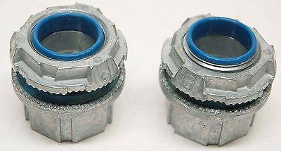 """T&B Thomas and Betts 1"""" Conduit Hub Connector Type 4 NEW, H100-SC QTY 2"""