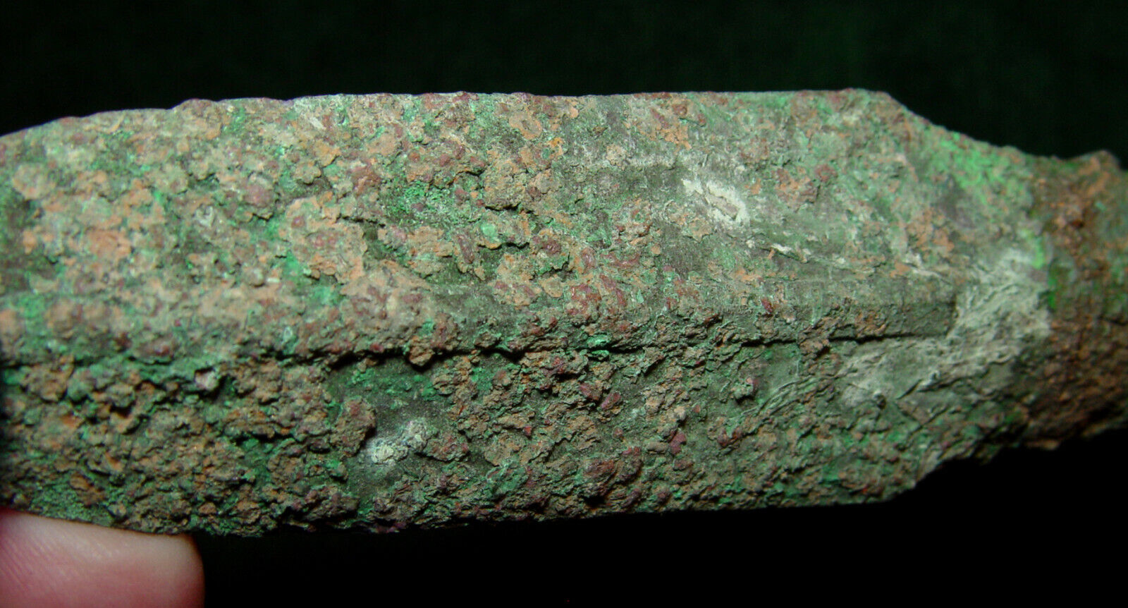 Canaanite Middle Bronze Age Circa 1500 BC  Bronze Spearhead from Holy Land