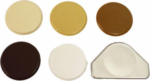 35MM HINGE HOLE COVER CAPS PLASTIC KITCHEN CABINET CUPBOARD DOOR BLANKING CAP
