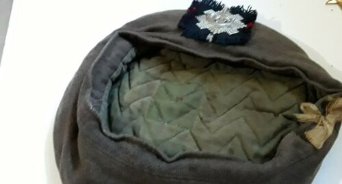 original ww11 highland canadian light infantry beret very good condition
