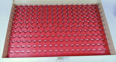 Vermont Gage Pin Set Class Bb Plus .0610 -. 2500