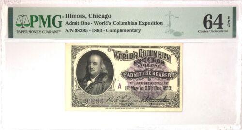 1893 Chicago World