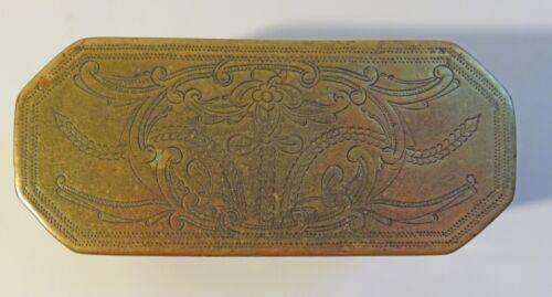 18th Century Indonesian Brass Betel (Sirih, Lime) Box