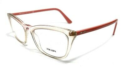 Prada VPR 10V 326-1O1 Pink Women's Authentic Eyeglasses Frame 52-18