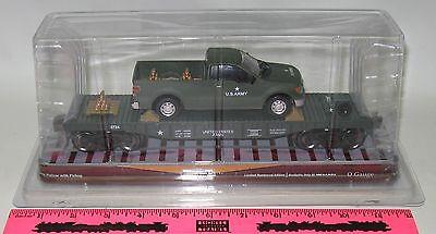 Menards O Gauge U.S. Army Flatcar with Truck