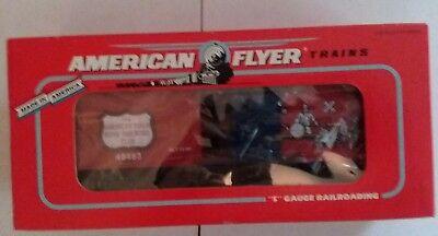 AMERICAN FLYER A C GILBERT SOCIETY BOYS RAILROAD CLUB  BOXCAR--ITEM #6-48483