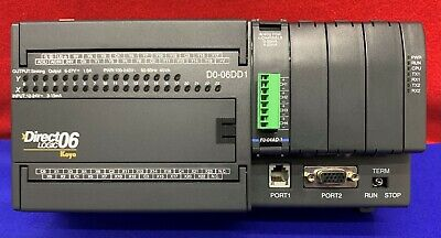Koyo Automation Direct Logic 06 D0-06dd1 Plc