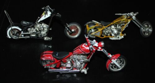 Joy Ride American Chopper POW MIA - DIXIE - TOOL BIKE DIECAST MOTORCYCLE 1/18