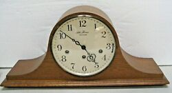 Seth Thomas U.S.A. Tambour Triple and Westminster Chime Mantel Clock Working