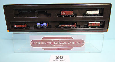 MARKLIN 'Z' GAUGE 81415 GERMAN ASSORTED FREIGHT WAGONS BOXED #90