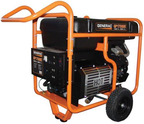 Generac Generator 17,500 Watt Portable GP17500E #5735