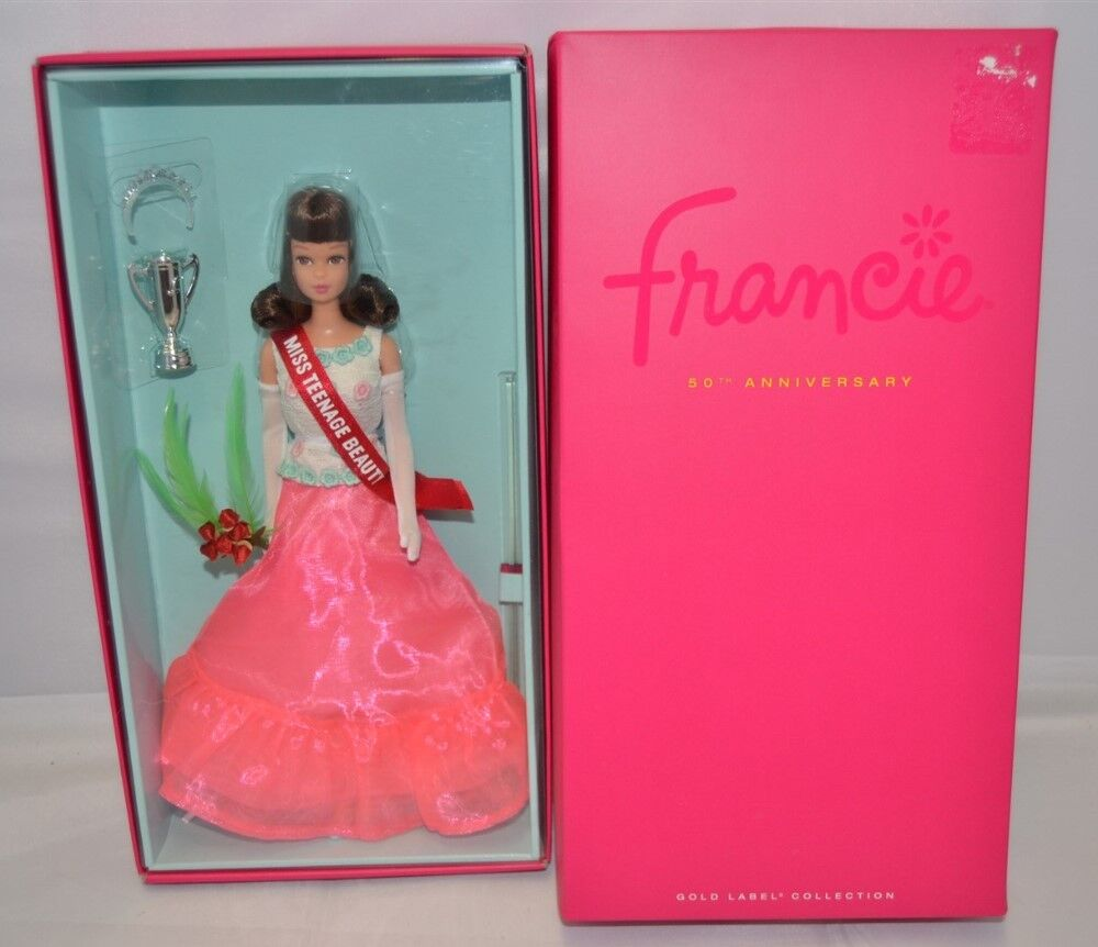 Barbie Francie 50th Anniversary Fashion Vintage Repro NEW Miss Teenage Beauty