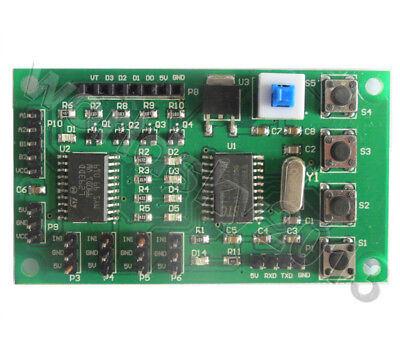 1x Micro Programmabl Stepped Motor Driver Control Board For Diy Robot Smart Car