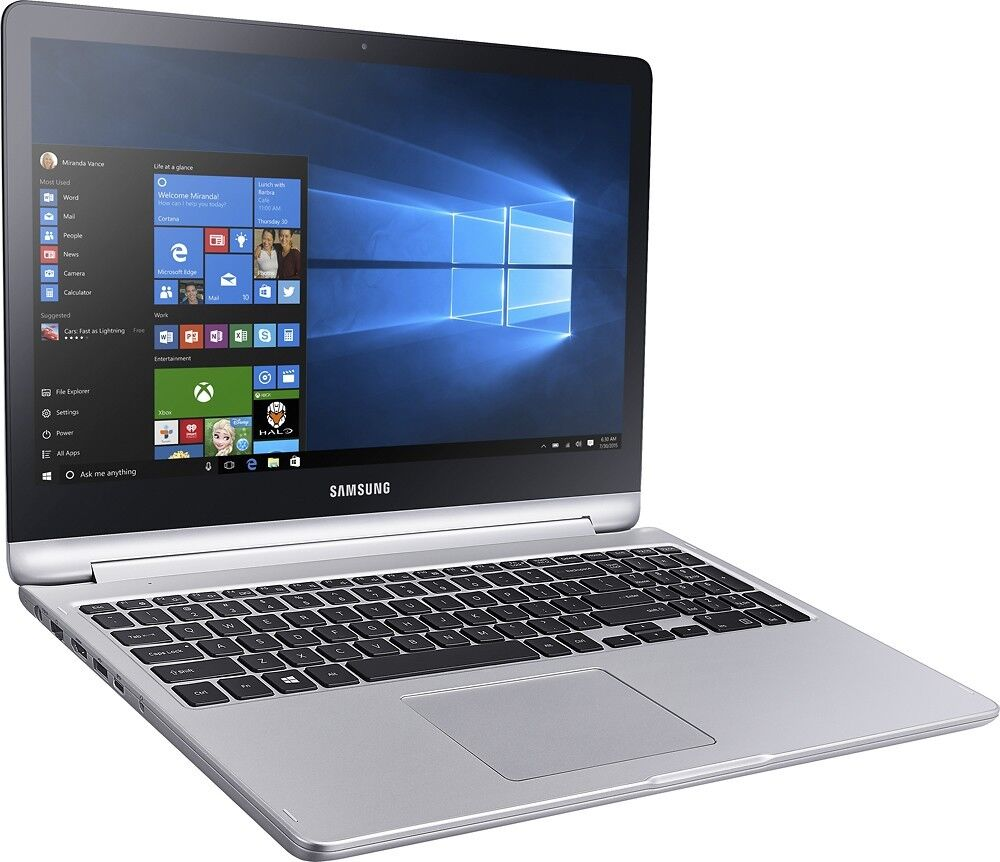 """New Samsung Spin 2-in-1 15.6"""" Full HD Touch-Screen i7 12GB 1TB Backlit keyboard"""