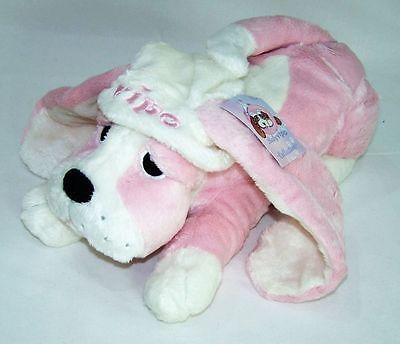 Vipo Baby Hund Aufziehspieluhr Rosa  Kuscheltier Einschlafhilfe Spieluhr Neu OVP