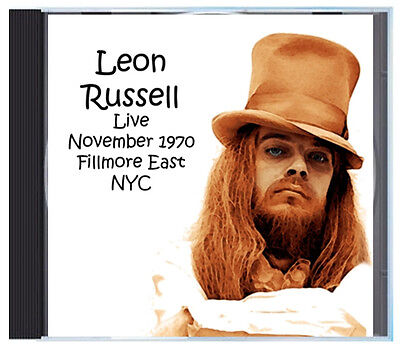 Leon Russell Live At The Fillmore East In 1970 With Elton John Sitting In  On Cd