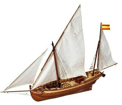 "Beautiful, brand new model ship kit by OcCre: the ""San Juan Felucca""  segunda mano  Embacar hacia Argentina"