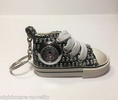 TENNIS SHOE SNEAKER KEY CHAIN POCKET WATCH