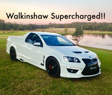 HSV Maloo Supercharged