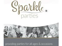 Sparkle Parties we specialise in parties for all ages & occasions