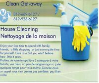 Clean Get-Away House Cleaners Bilingual