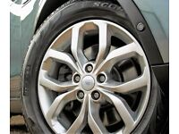 """GENUINE 521 19"""" LAND ROVER DISCOVERY ALLOY WHEELS TYRES 255/60/19"""