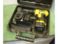 Dewalt DC727 12v Heavy Duty Drill Driver + 2 Batteries, Charger & case
