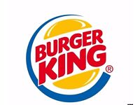 Burger King Crew Member full and part time positions Bootle Liverpool