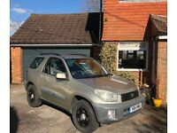 Toyota Rav-4 (pale gold) Great condition and spec