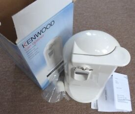 KENWOOD ELECTRIC CAN OPENER, KNIFE SHARPENER WHITE CO600. BRAND NEW BOXED