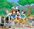 Mickey Mouse fotobehang L, Disney Club, Mickey Mouse behang