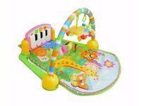 *BNIB RRP £39.99* Baby Gym Playmat Musical Activity Play Mat 0-36 Months (Pink)