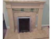 Fireplace and surround - good condition