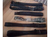 Mens belt £2-£3 each