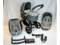 Icandy Peach 3 Truffle **FULL TRAVEL SYSTEM!!* * Includes Maxi Cosi Pebble & Accessories worth £££