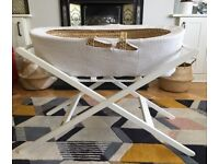 Moses basket with stand (Both John Lewis)