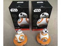 STAR WARS BB-8 App Enabled Droid SPHERO (hardly used) 2 AVAILABLE