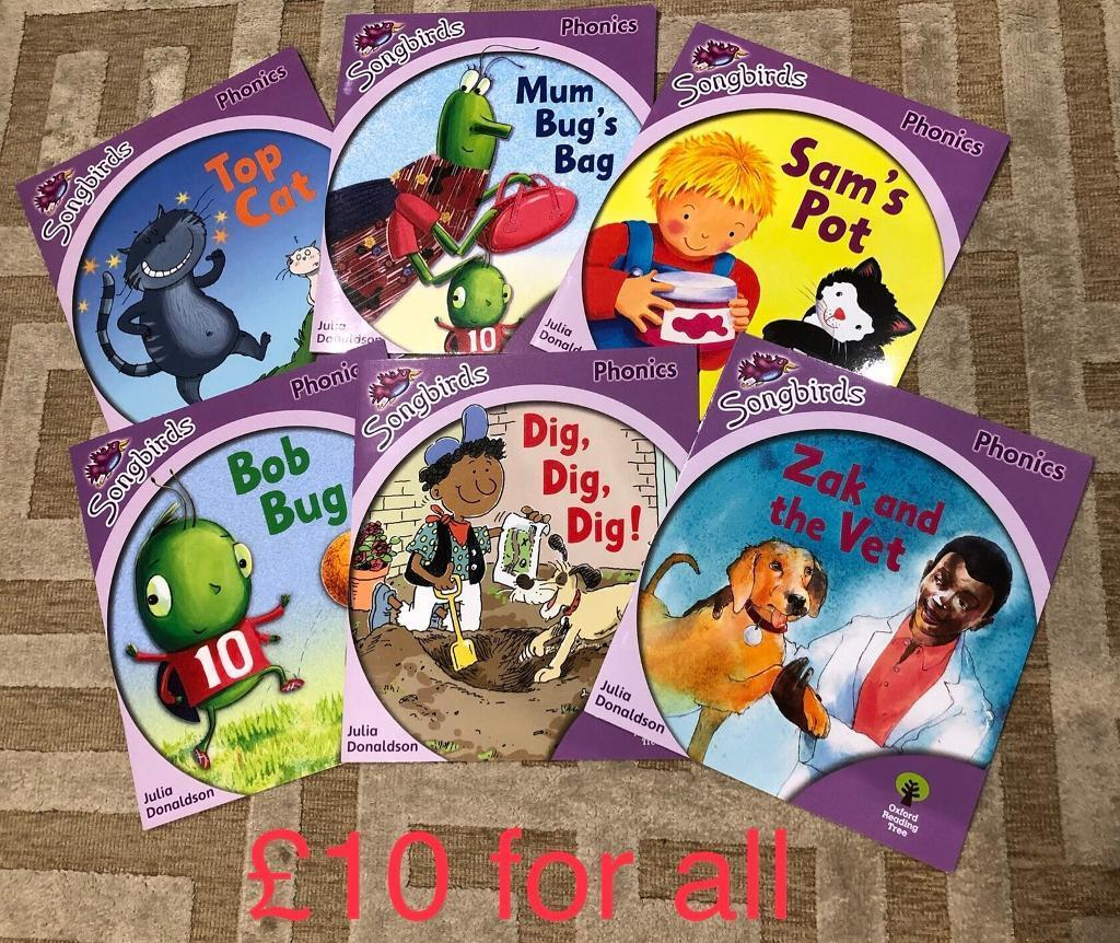 Almost brand new kids books at different levels, ages 5-7