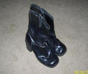 Halloween costume retro boots size 5