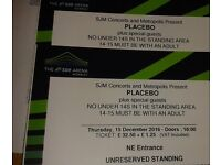 Placebo, Wembley Thurs 15th, standing tickets