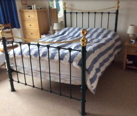 Reduced Price - Beautifully Restored Antique Bedstead Double Bed